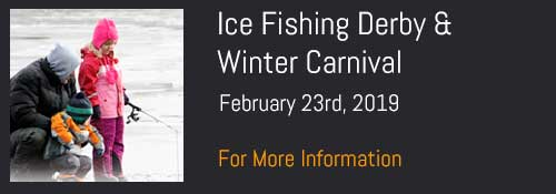 Ice Fishing Derby & Winter Carnival, Feburary 23rd, 2019